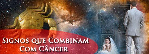 signos que combinam com câncer
