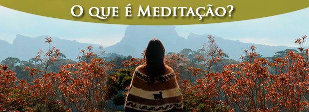 o que é meditação