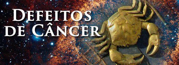 defeitos de câncer