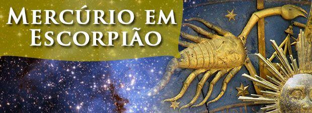 mercúrio em escorpião