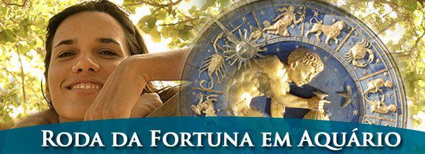 roda da fortuna em aquário