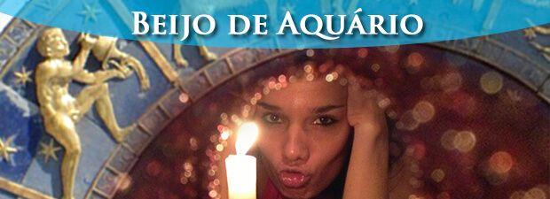 beijo de aquário
