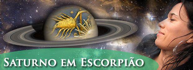 saturno em escorpião