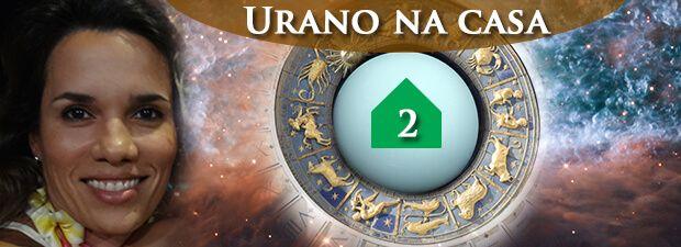 urano na casa 2