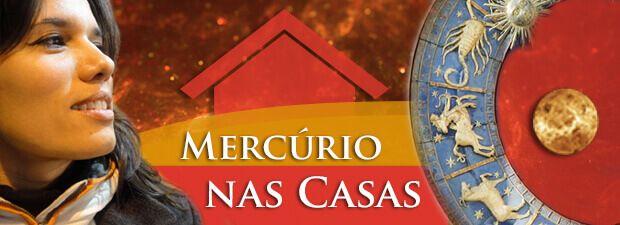 Mercúrio nas Casas